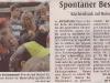 Kirchenbank auf Reisen, Presseartikel WN vom 20.09.2014