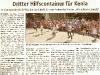 Tornister für Afrika, Zeitung, Juli 2012