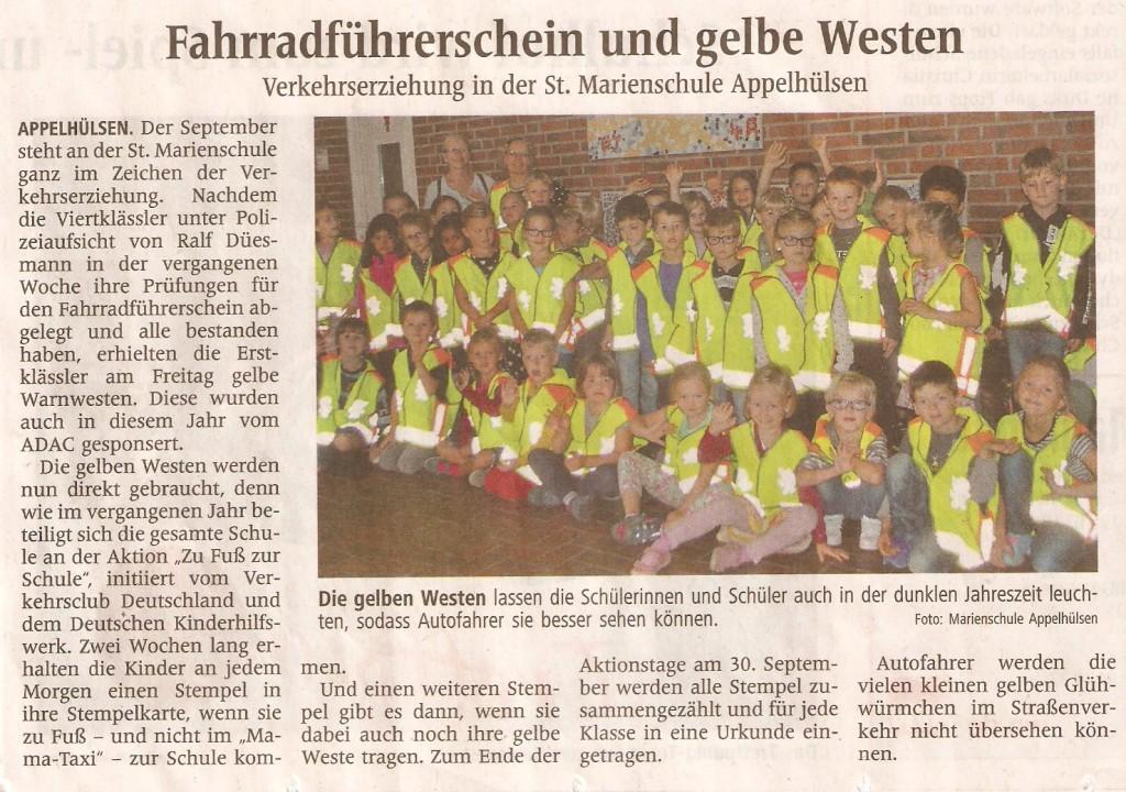 2016_09_19 WN Fahrradführerschein und gelbe Westen