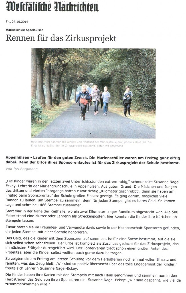 2016_10_07 WN Sponsorenlauf