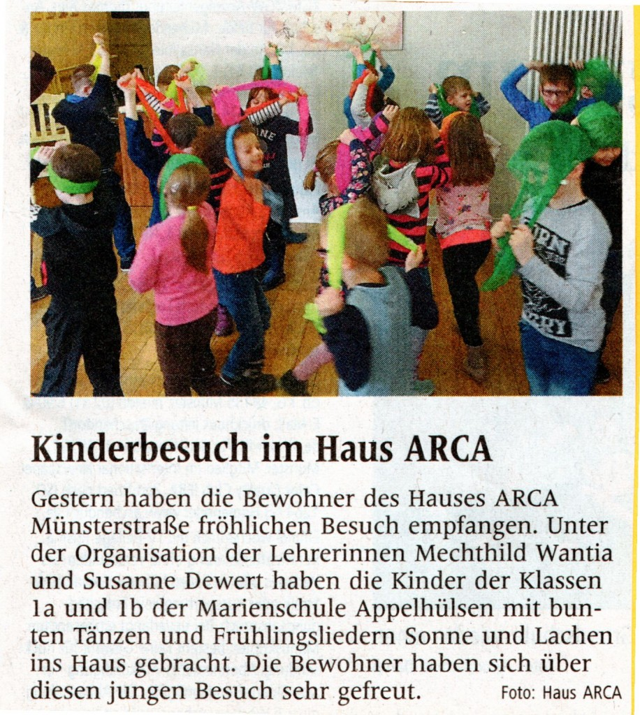2017_03_10 WN Text u Bild Kinderbesuch in Haus ARCA