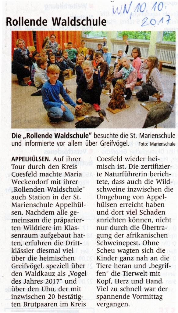 2017_10_10 WN Rollende Waldschule