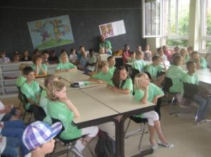 Tornister-Aktion, Klasse 4b, Juli 2012