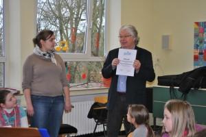 Verleihung Jekiss-Zertifikat, Heiner Block, 11.03.13