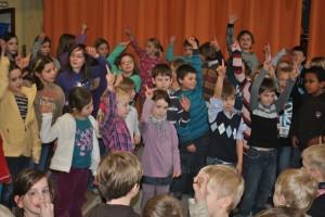 JEKISS-Chor, Schulsingen, 12.03.2012