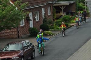 Fahrradführerschein, Abschlussfahrt 4a, 4b, 16.09.2013