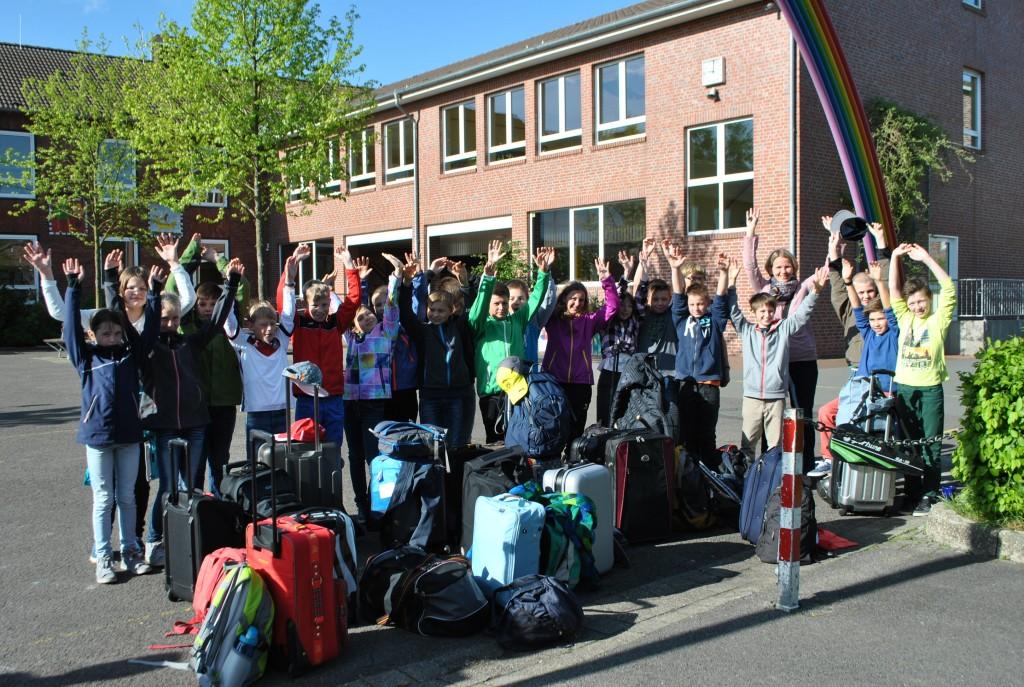 4b nach Tecklenburg, 06.05.2015