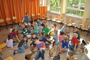 rollende Waldschule, Klasse 2b, 11.09.2012