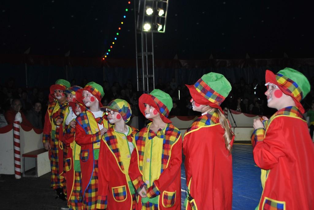 Vorstellung Gruppe B Clowns 2017-03-17