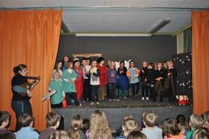 Weihnachtsmusical Schulchor, Finale, 17.12.2012