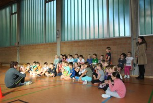 Kindersprint in Appelhülsen: 168 Kinder machten mit, 3.-4.11.2015
