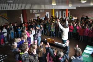 Jekiss-Schulsingen mit Frau Werbick, 8.4.2014