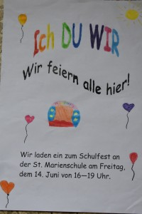 Schulfest 2019, Plakat