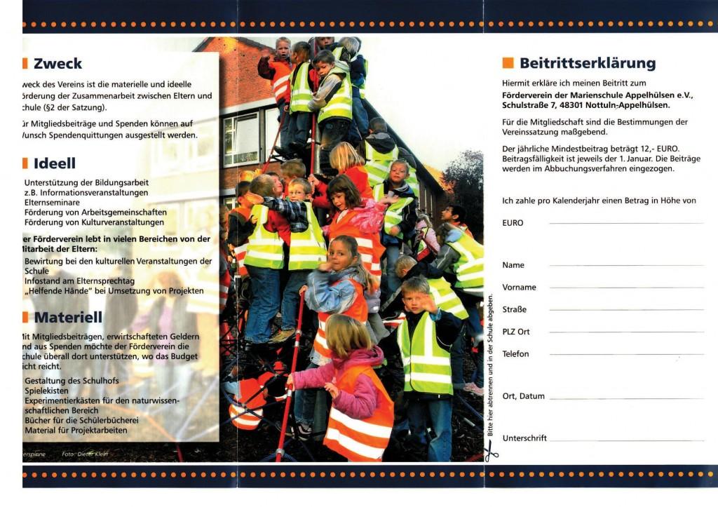 Förderverein Flyer 2012 Seite 2 als Bild