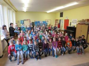 """Mini-Musical """"Der dicke, fette Pfannekuchen"""", 2b, 18.02.2015"""