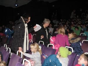 """Theaterfahrt """"Alice"""", 17.12.2013, im Theater"""
