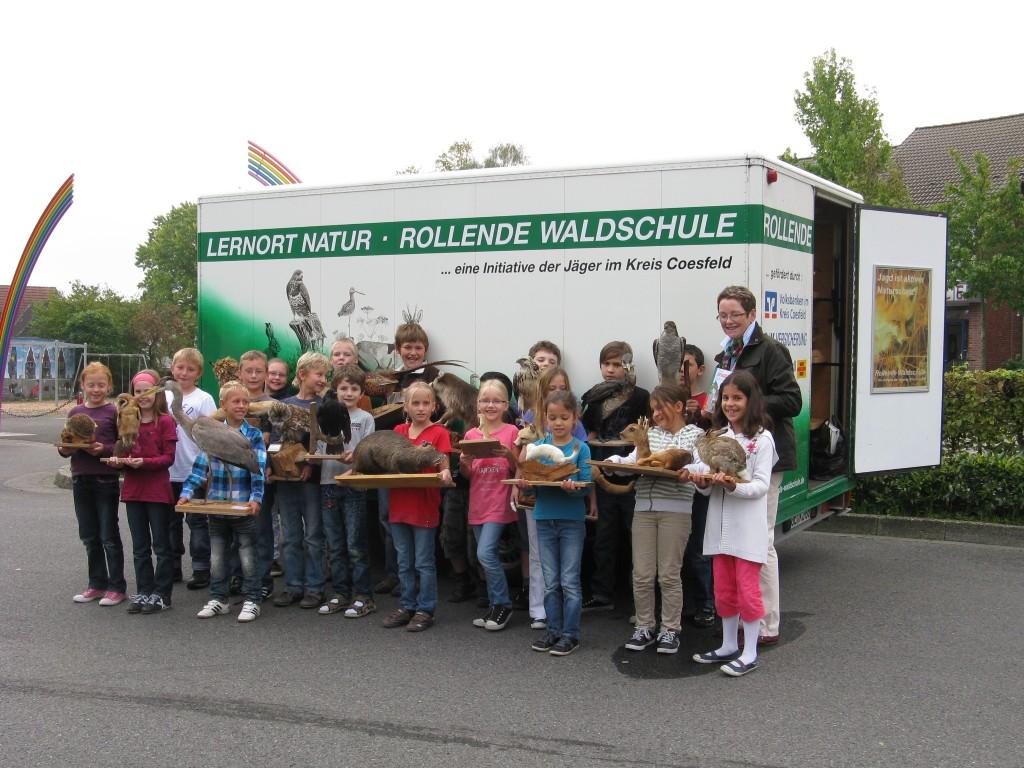 Rollende Waldschule, Maria Weckendorf, September 2011