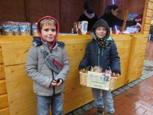 2018_12_08 Stand/ Bauchladen beim Weihnachtsmarkt