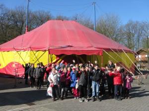 Zirkus Casselly Zelt, 4.3.13
