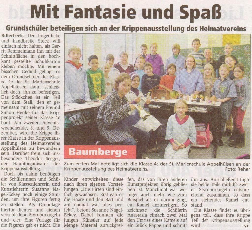 Krippenausstellung (Zeitung), 4c, 22.11.2012