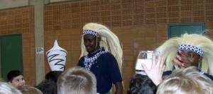 Tänzer aus Ruanda