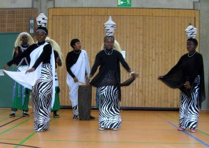 Tänzerin aus Ruanda