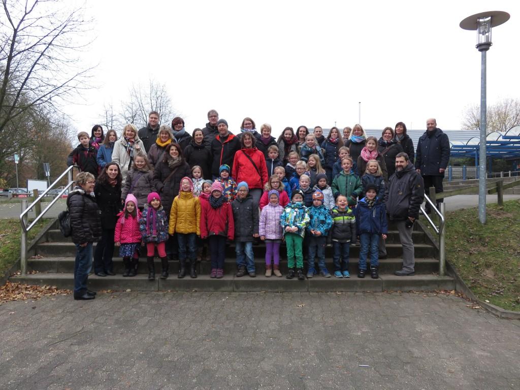 """Theaterfahrt mit Lummerland zum """"Elch"""" nach Billerbeck, 6. Dez. 2014"""