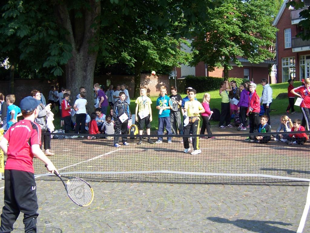 Street-Tennis-Turnier, Nottuln 3.6.2014