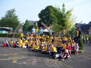 Frankreichaustausch Juni 2014, Gruppe gelbe Tshirts