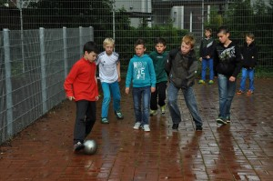 Frankreichaustausch Juni 2014, Fußball