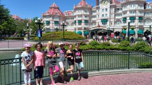 St Amand 2013, Disneyland Paris