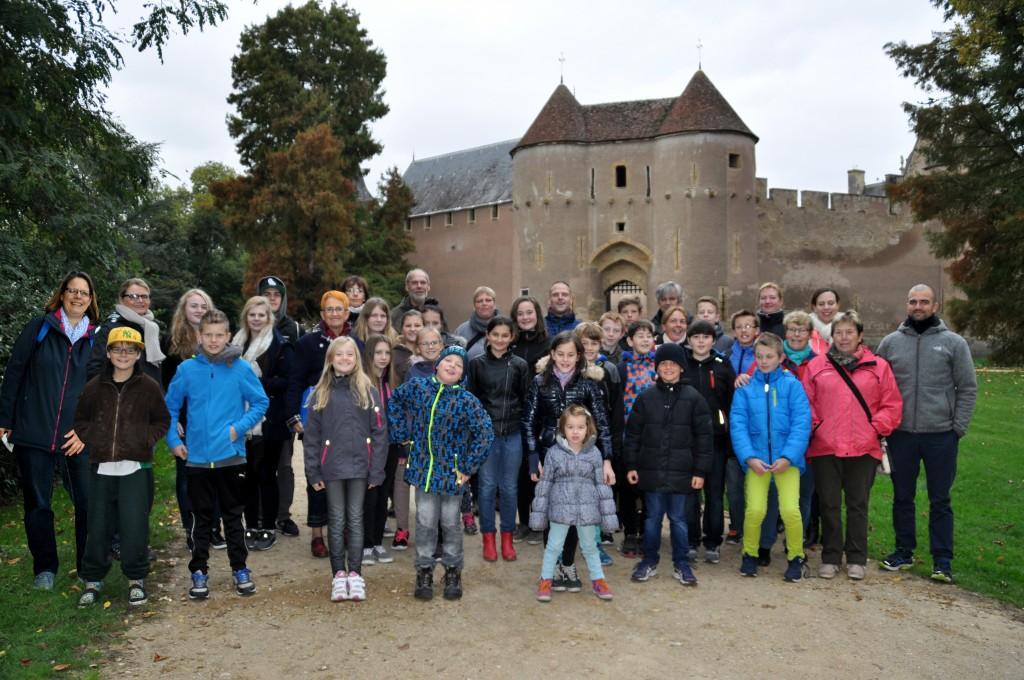 Frankreichfahrt Okt. 2015, chateau-d-Ainay-le-Vieil