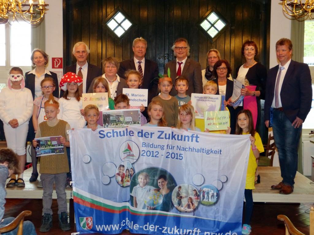 Schule der Zukunft Auszeichnung St-Marienschule-Appelhuelsen, 06.05.2015