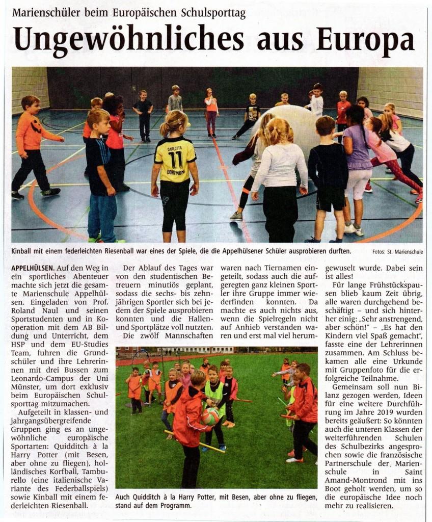 2018_10_12 WN Text u Bild Schulsporttag